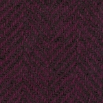 Wool Fat Quarter Grape Herringbone