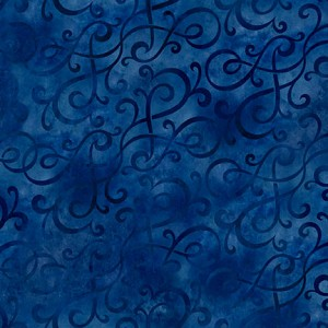 Autumn Harvest Dark Blue Swirl