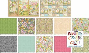 Garden Girls Fat Quarter Bundle