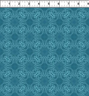 Treasures of Nature Tonal Swirl Teal