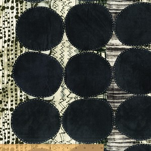 Curiosity Circle Black (quilting weight)