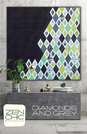 Diamonds & Grey Quilt Pattern