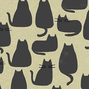 Home Whiskers Chat Gris Tailored Cloth