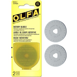 Olfa 45mm Rotary Blade Replacement 2ct