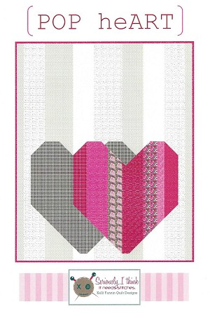 (POP heART) Quilt Pattern