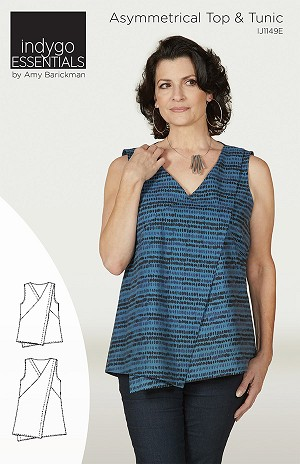 Asymmetrical Top & Tunic Pattern