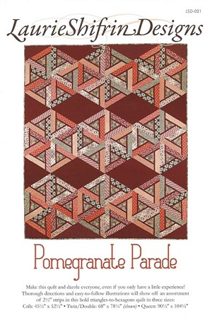 Pomegranate Parade Quilt