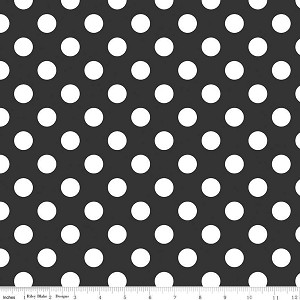 Medium Dots Black