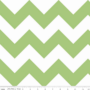 Large Chevron Green