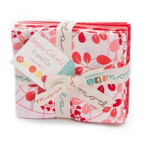 Simply Colorful Fat Quarter Bundle Red