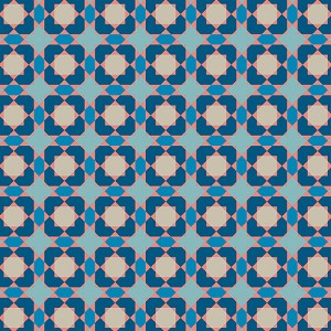 Sun Kissed Pool Tile Blue
