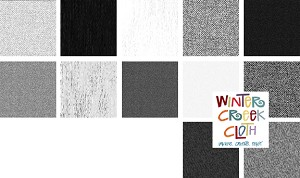 "Texture-Graphix ""Cool Grays"" Fat Quarter Bundle"