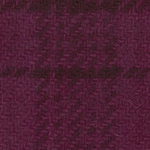 Wool Fat Quarter Grape Glens Plaid